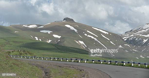 A general view of mountains from the main highway connecting northern Armenia with southern Armenia near Saralandj Saralandj Armenia on Saturday 14...