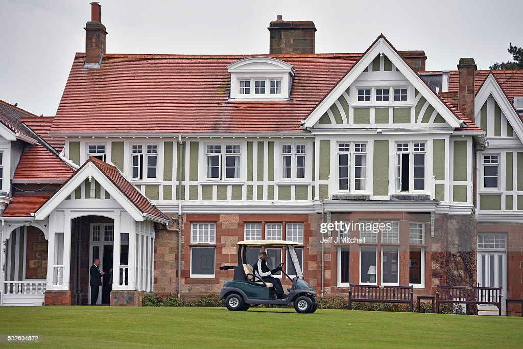 A general view of Muirfield Golf Club on May 19, 2016 in Gullane, Scotland. Muirfield Golf Club has lost the right to host the Open Championship after it failed to rally a majority of male members behind the vote allowing women to join the club as members. Women are welcome on the course and the clubhouse as guests and visitors.