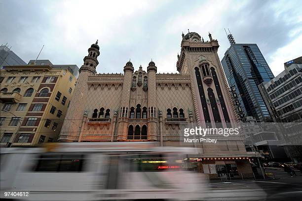 A general view of music venue The Forum Theatre on August 29 2009 in Melbourne Australia