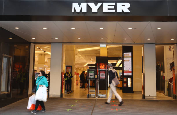 AUS: Myer Reopens Stores Following Coronavirus Shut Down