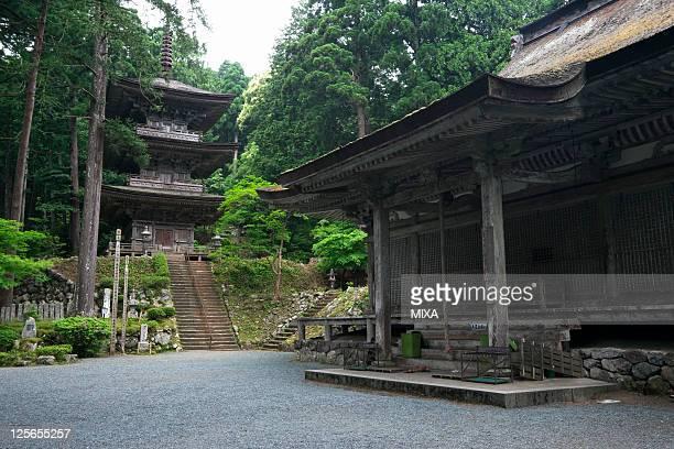 General view of Myotsuji Temple on May 28, 2009 in Obama, Fukui, Japan.