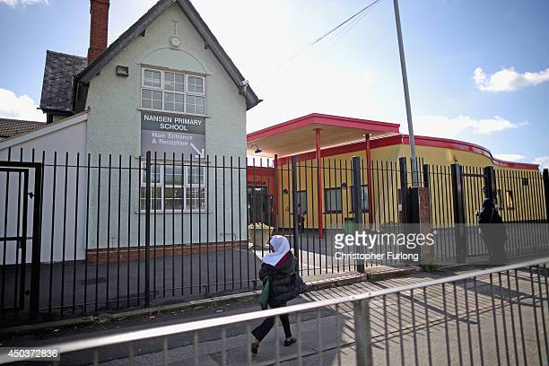 A general view of Nansen Primary School one of the Birmingham Schools at the centre of the 'Trojan Horse' inquiry on June 10 2014 in Birmingham...
