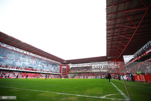 General view of Nemesio Diez stadium prior the quarter finals second leg match between Toluca and Morelia as part of the Torneo Clausura 2018 Liga MX...
