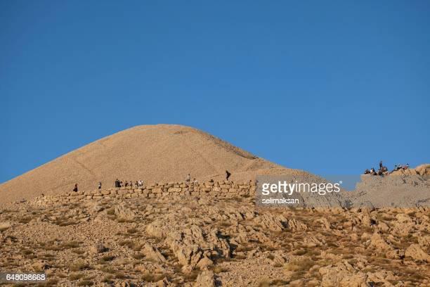 General View Of Nemrud Dagh In Adiyaman Turkey