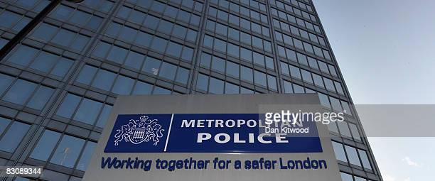 General view of New Scotland Yard on October 2, 2008 in London, England. Metropolitan Police Commissioner, Sir Ian Blair today announced his...