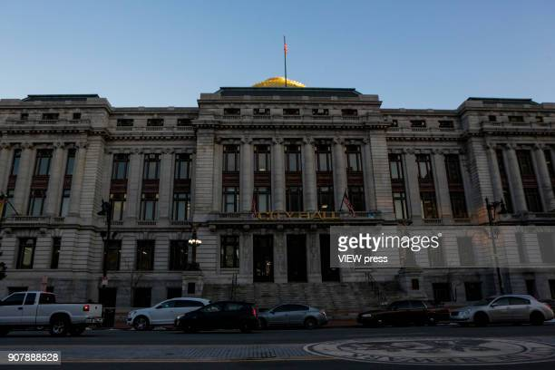 General view of Newark City Hall on January 18 2018 in Newark New Jersey Amazon has released a shortlist for its muchanticipated second headquarters...