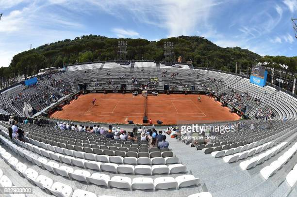 General View of Next Gen Arena during the match between Kevin Anderson of South Africa and Ernesto Escobedo of USA during The Internazionali BNL...