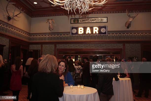 General view of Niche Media's Bing's NYE Bash hosted by Haley Jason Binn and Aimee John Oates at Hotel Jerome on January 1 2010 in Aspen Colorado