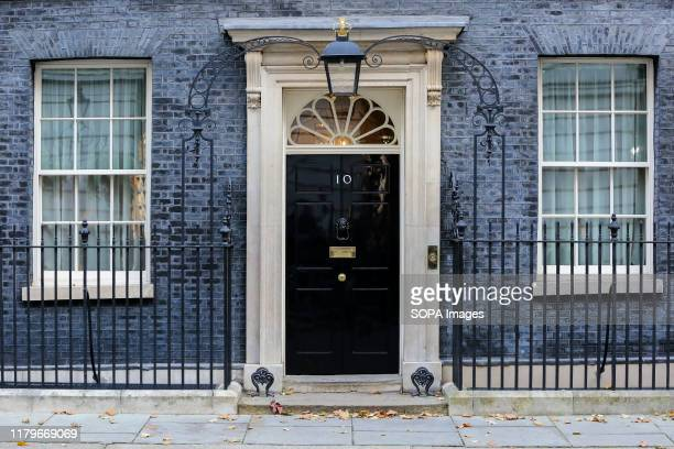 General view of No 10 Downing Street in London. No Number 10, is the official residence Prime Minister of the United Kingdom. The UK's next general...