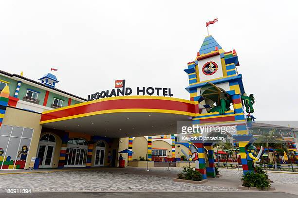 A general view of North America's first ever Legoland Hotel at Legoland on September 17 2013 in Carlsbad California The threestory 250room hotel is...
