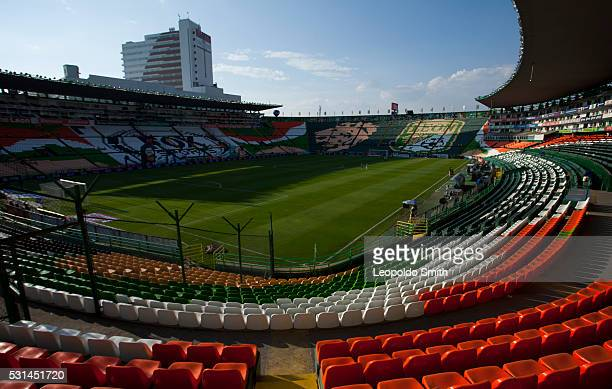 General view of Nou Camp Stadium prior the quarter finals second leg match between Leon and Morelia as part of the Clausura 2016 Liga MX at Leon...