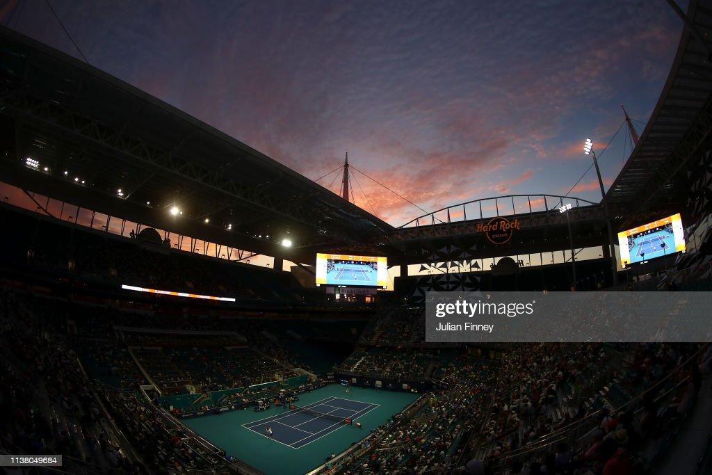 Miami Open 2019 - Day 7 : News Photo