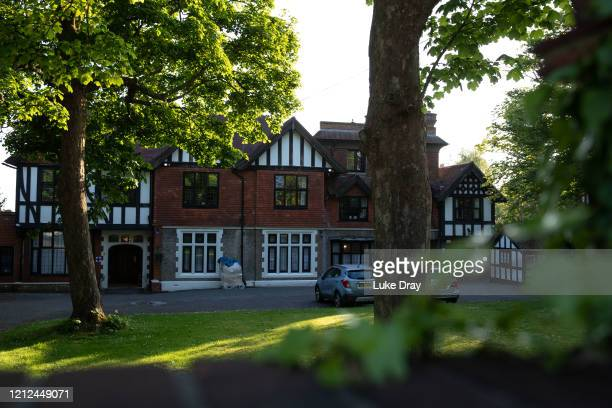 A general view of Oaklands Nursing Home on May 8 2020 in Hove United Kingdom The outbreak in Oaklands Nursing Home is understood to have started on...