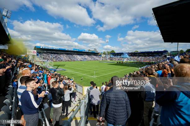 General view of Odense Stadion - Nature Energy Park prior to the Danish Superliga match between OB Odense and Brondby IF at Nature Energy Park on May...