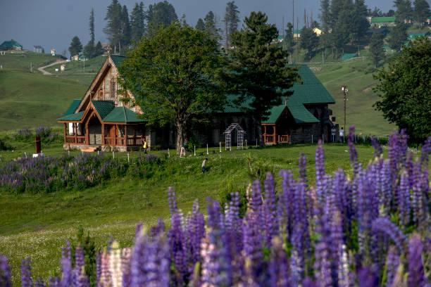 IND: Gulmarg Resort Area In Kashmir