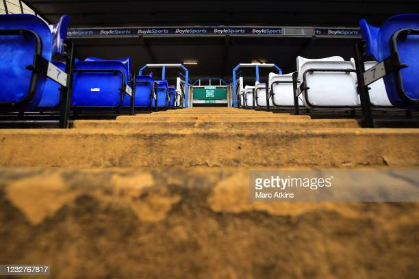 General view of of the concourse and empty seats prior to the Sky Bet Championship match between Coventry City and Millwall at St Andrew's Trillion...