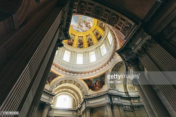 CONTENT] Paris France December 14 2010 General view of of the dome over the tomb of Napoleon at the Invalides Hotel in Paris France on December 14...