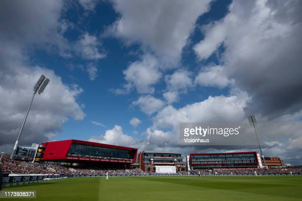 General view of Old Trafford during day one of the 4th Specsavers Ashes Test at Emirates Old Trafford on September 4, 2019 in Manchester, England.