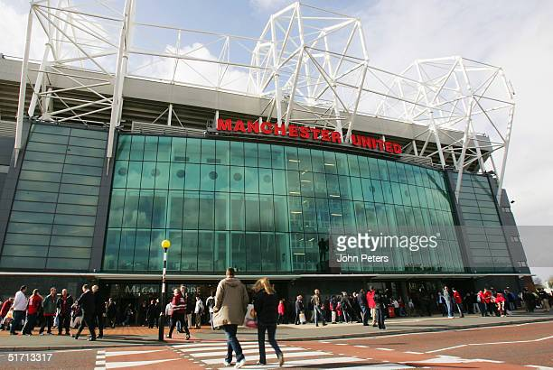 A general view of Old Trafford's East Stand prior to the Barclays Premiership match between Manchester United and Arsenal at Old Trafford on October...