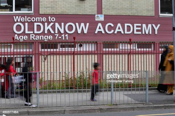 A general view of Oldknow Academy one of the Birmingham Schools at the centre of the 'Trojan Horse' inquiry on June 10 2014 in Birmingham England...