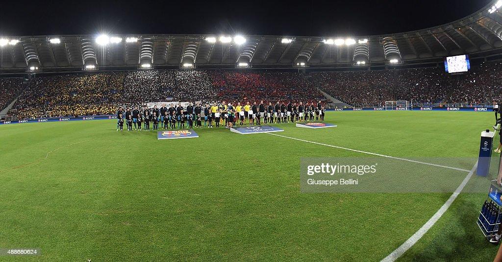 AS Roma v FC Barcelona - UEFA Champions League : News Photo