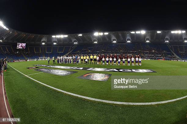 General view of Olimpico Stadium prior the UEFA Europa League match between AS Roma and FC Astra Giurgiu at Olimpico Stadium on September 29 2016 in...