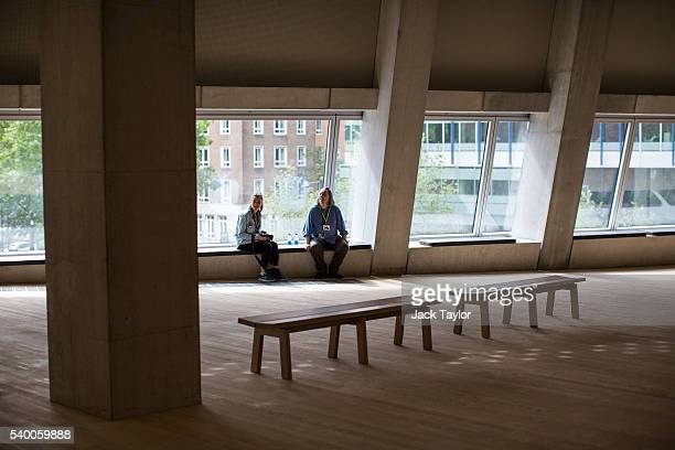 A general view of one of the rooms at Tate Modern's new Switch House on June 14 2016 in London England The Tate Modern art gallery unveils its new...
