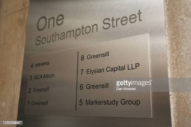 General view of One, Southampton Street, the home of Greensill Capital on March 31, 2021 in London, England. The company collapsed into...