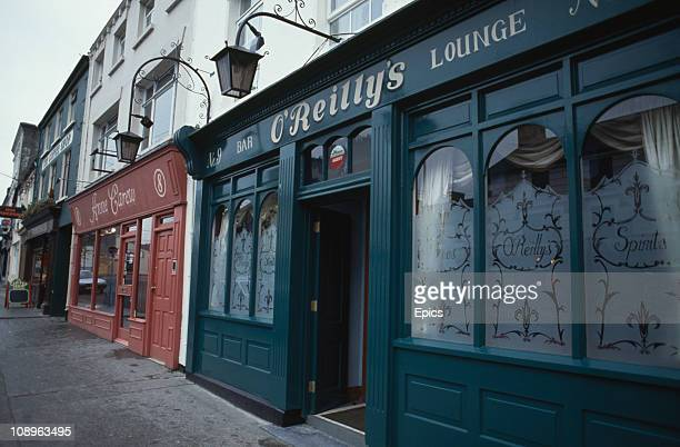 A general view of O'Reillys bar in the town of Cashel County Tipperary Ireland circa 1990