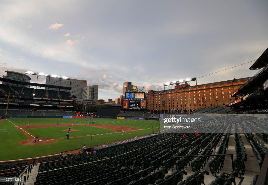 MLB: JUL 20 Nationals at Orioles : News Photo