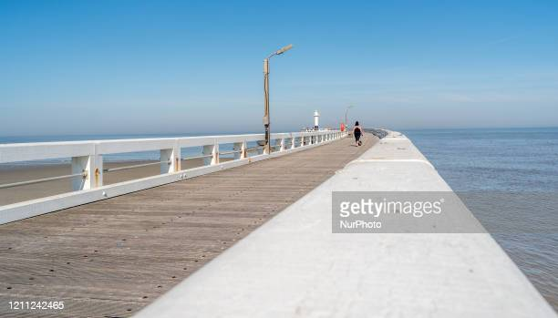 General view of Ostend, Belgium, on April 23, 2020. Europe's tourism industry around one billion euros a month in lost revenue due the coronavirus...
