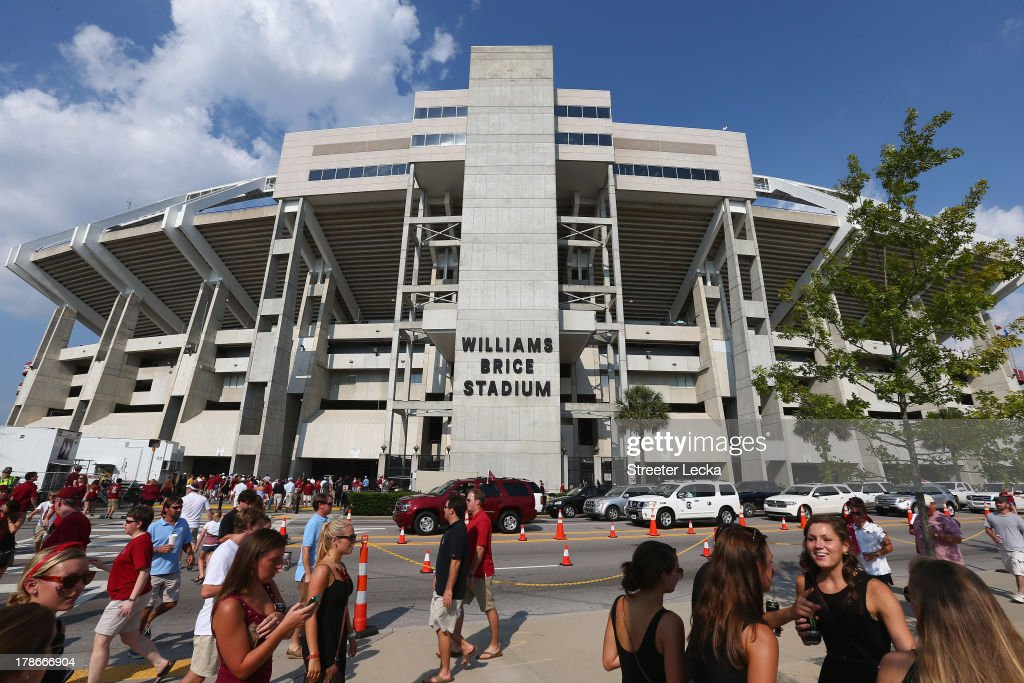 A general view of outside the stadium before the game between the North Carolina Tar Heels and South Carolina Gamecocks at Williams-Brice Stadium on August 29, 2013 in Columbia, South Carolina.