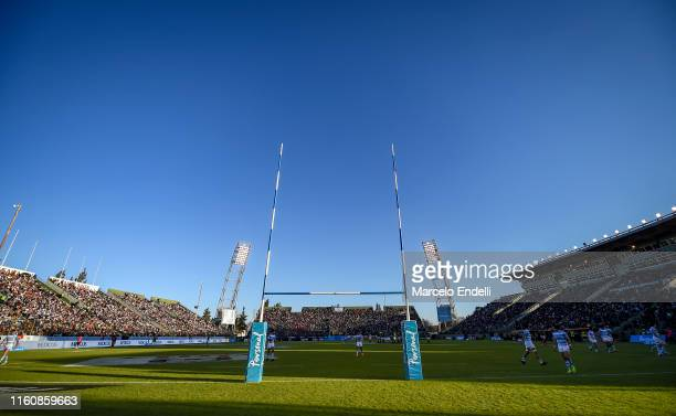 General view of Padre Ernesto Martearena Stadium during a match between Argentina and South Africa as part of The Rugby Championship 2019 at Padre...