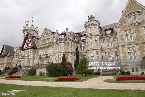 General view of Palacio de la Magdalena on October 1 2016 in Santander Spain