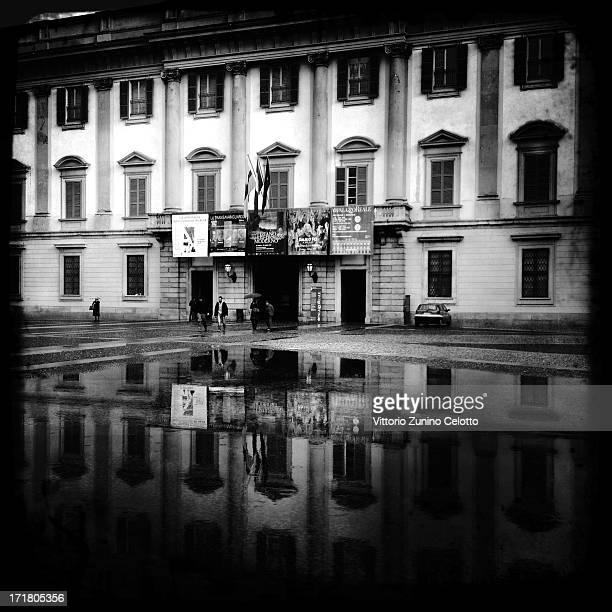 A general view of Palazzo Reale on April 11 2012 in Milan Italy Milan was named as the next Universal Exposition Expo 2015 the next World's fair in...