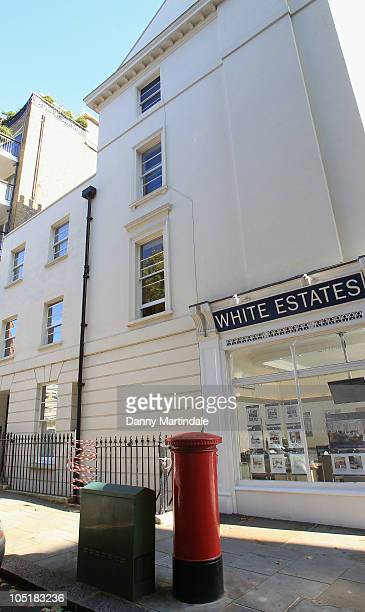 General view of Paloma Penniman's flat where she fell from the fourth floor window on October 11, 2010 in London, England. Paloma Penniman, the...