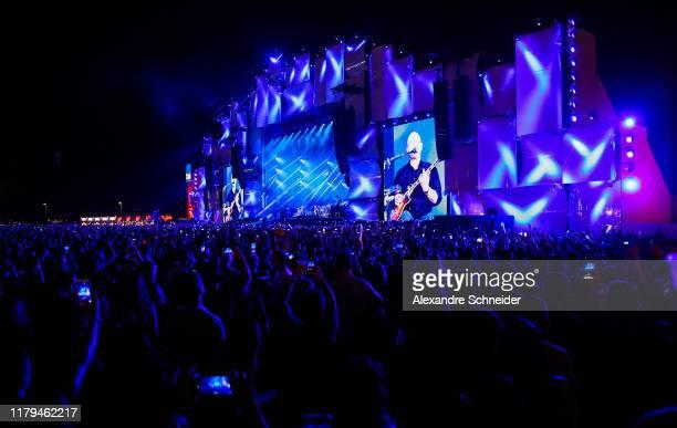 General view of Paralamas do Sucesso concert during Rock in Rio 2019-Day 7 at Cidade do Rock on October 06, 2019 in Rio de Janeiro, Brazil.