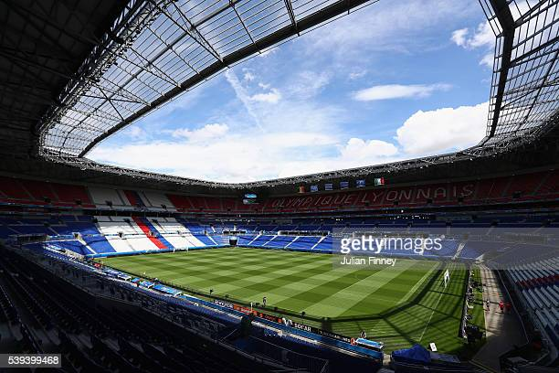 A general view of Parc Olympique Lyon on June 11 2016 in Lyon France
