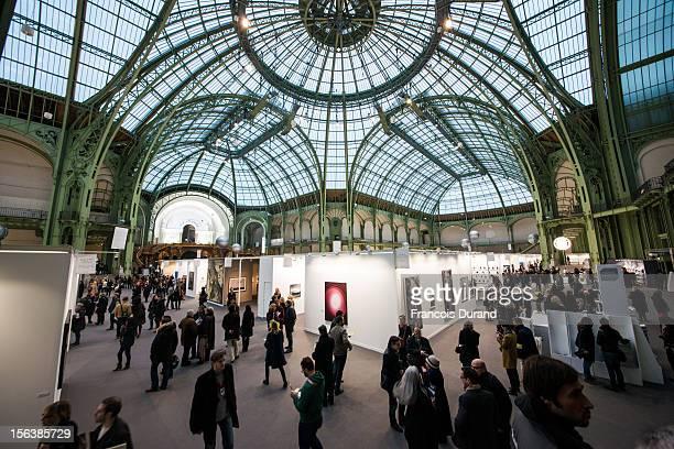 General view of Paris Photo press launch at Grand Palais on November 14 2012 in Paris France
