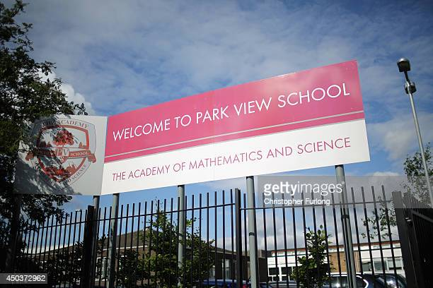 A general view of Parkview School one of the Birmingham Schools at the centre of the 'Trojan Horse' inquiry on June 10 2014 in Birmingham England...
