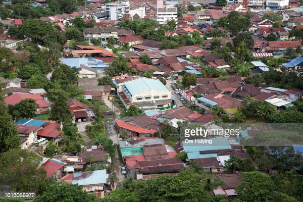 General view of part of the 234 acre land at Air Itam acquired by the 1MDB fund on July 31 2018 in Penang Malaysia Originally slated for affordable...