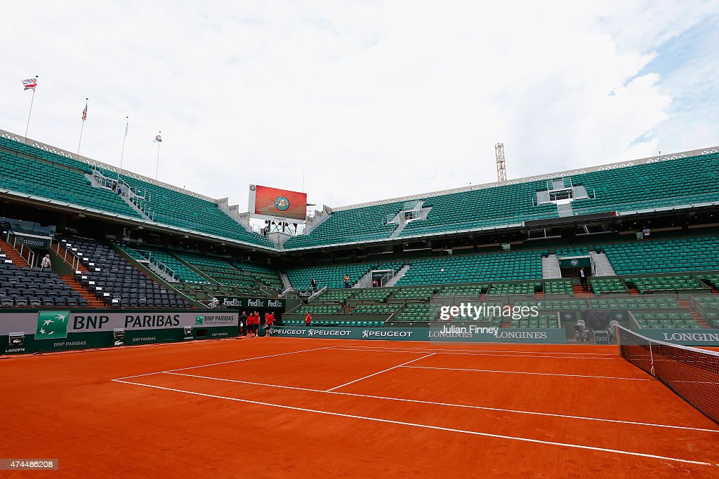 2015 French Open - Previews : News Photo
