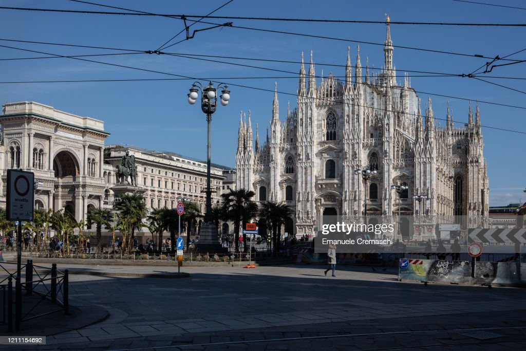 Italy Quarantines Entire Lombardy Region To Slow COVID-19 Spread : ニュース写真