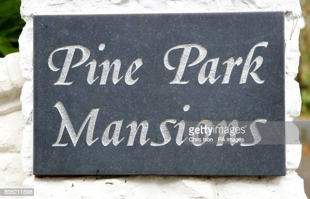 A general view of Pine Park Mansions in an exclusive are of Poole Dorset where London cab driver John Worboys owned a share in a holiday property