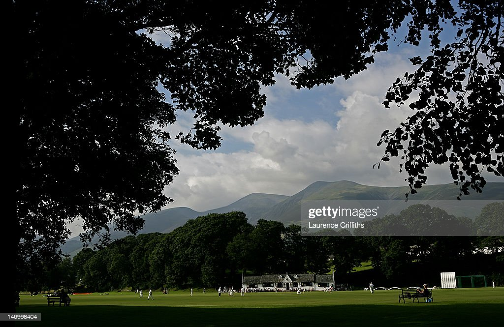 From The Boundary's Edge - Village Cricket : News Photo