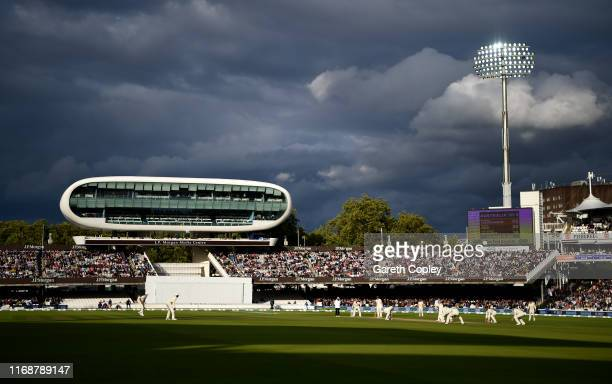 General view of play during day five of the 2nd Specsavers Ashes Test match at Lord's Cricket Ground on August 18 2019 in London England