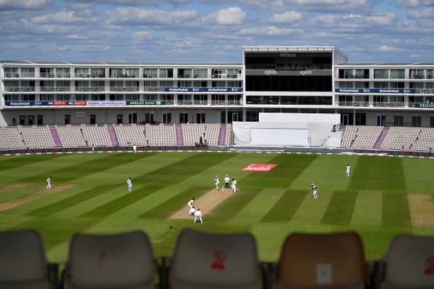 GBR: England v West Indies: Day  4- First Test #RaiseTheBat Series