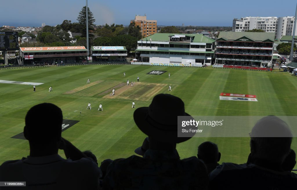 South Africa v England - 3rd Test: Day 1 : News Photo