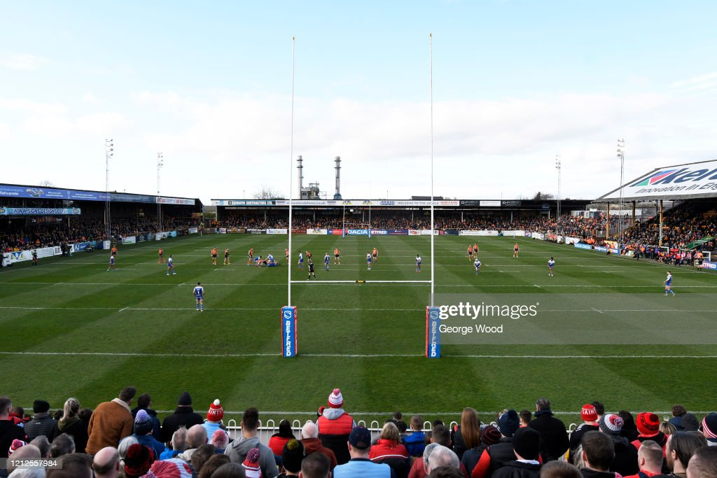 Castleford Tigers v St Helens - Betfred Super League : News Photo