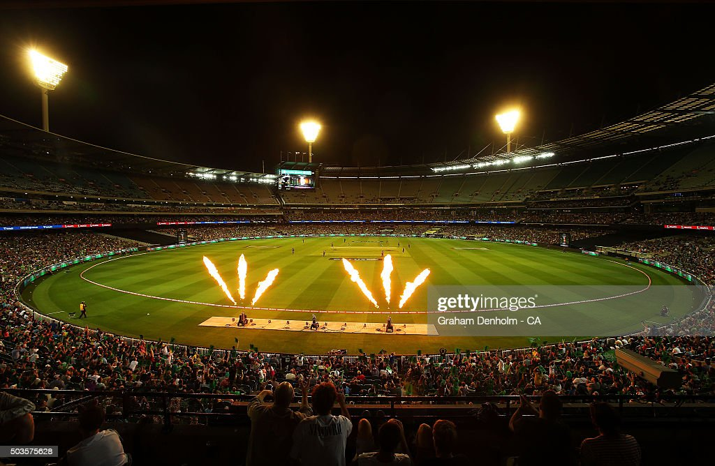 Big Bash League - Melbourne v Hobart : News Photo